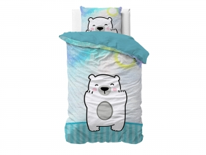 POŚCIEL KIDS LINE - Cuddle Bear 140x200