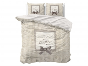 POŚCIEL PURE COTTON - Linen Love Cream 200x200