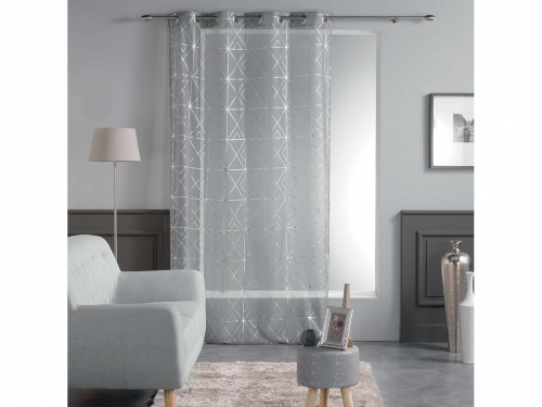 FIRANA QUADRIS - Light Grey 140x240