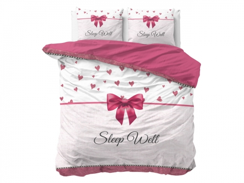 POŚCIEL PURE COTTON - Sleep Well Pink 200x220