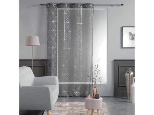 FIRANA QUADRIS - Dark Grey 140x280